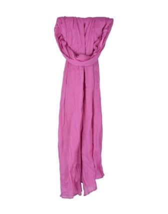 Suti Womens Cotton Plain Dupatta With Lace, Lavender