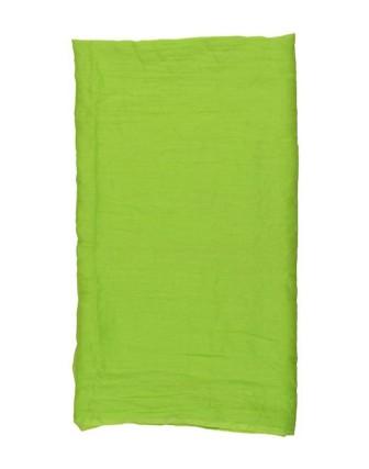 Suti Womens Cotton Plain Dupatta With Lace, Lime Green