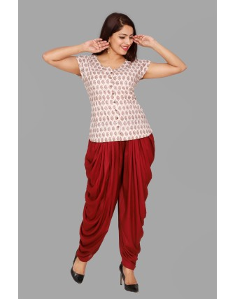 SUTI WOMENS COTTON  TOP N TUNIC, KASHISH