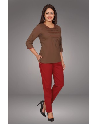 SUTI WOMENS COTTON WITH TOP N TUNIC, KASHISH