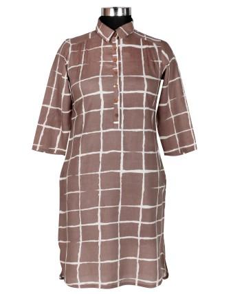 Suti Womens Modal Straight Fit Tunic, Kashish
