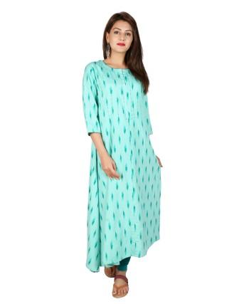 Suti Womens Rayon Flex Dress, Bright Aqua