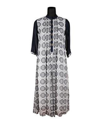 Suti Womens 100 % Viscose Womens Georgette Dress, Grey