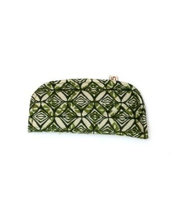 Suti Womens Cotton Organiser, Green