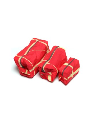 Suti Womens Cotton Pouches(3 Different Size), New Coral
