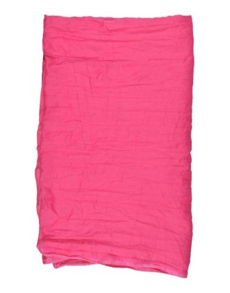 Suti Womens Cotton Plain Dupatta With Lace, French Rose