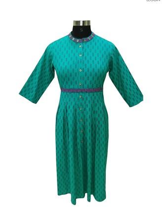 Teal Short Dress