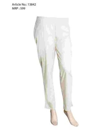 Cream Narrow Pant