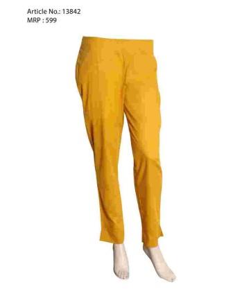 Mustard Narrow Pant