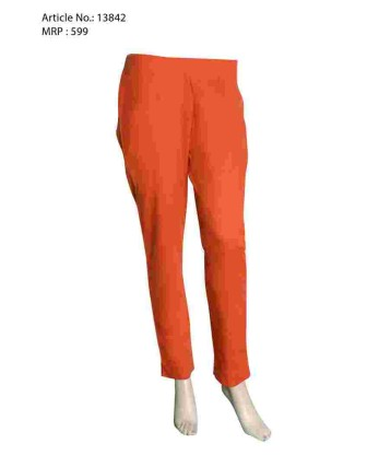 Orange Narrow Pant